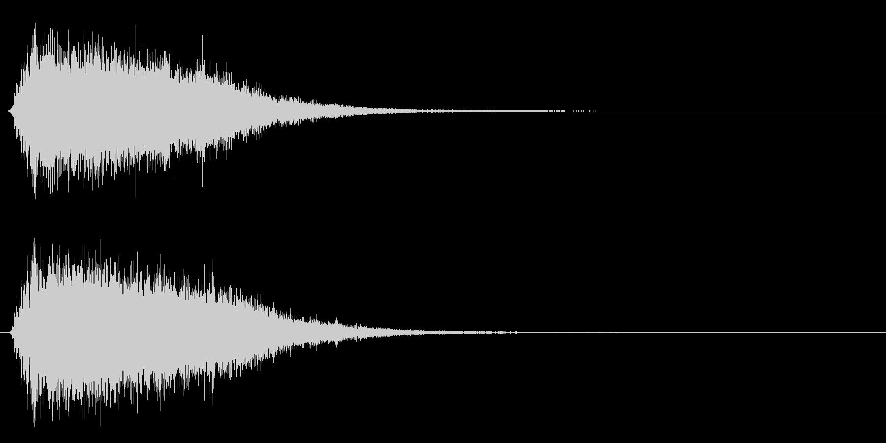 氷が砕ける音・氷系の魔法SE(高レベル)の未再生の波形