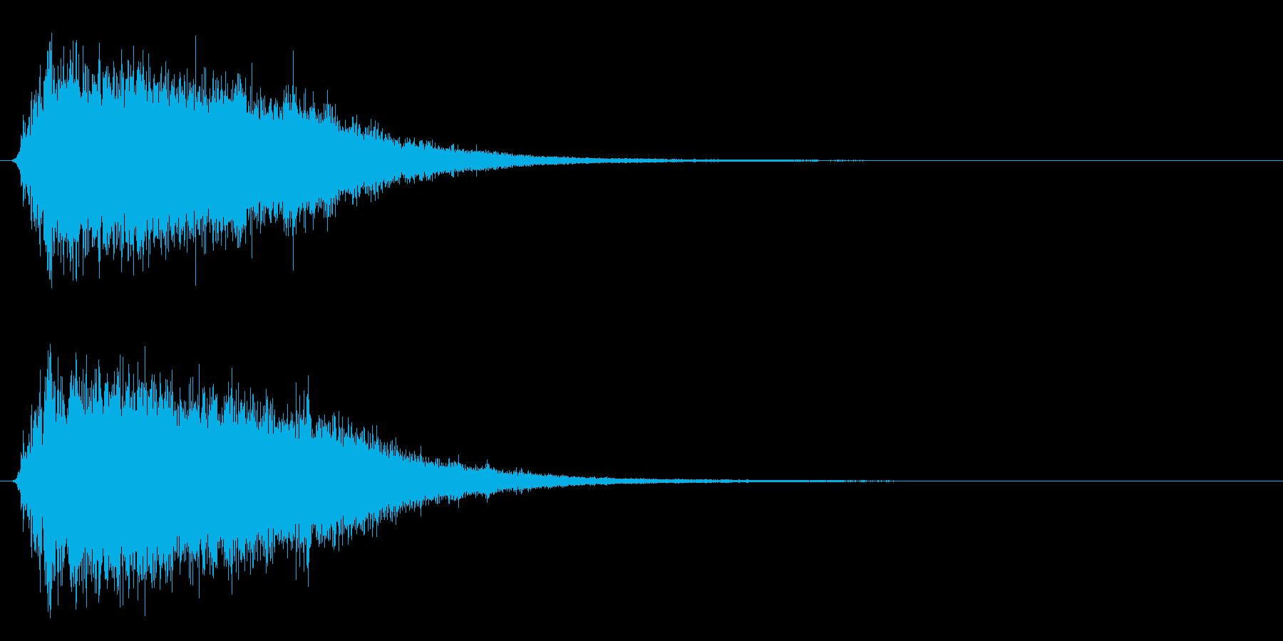 氷が砕ける音・氷系の魔法SE(高レベル)の再生済みの波形