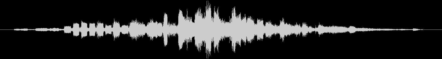 音楽の移行;ジャズアンサンブルフェ...の未再生の波形