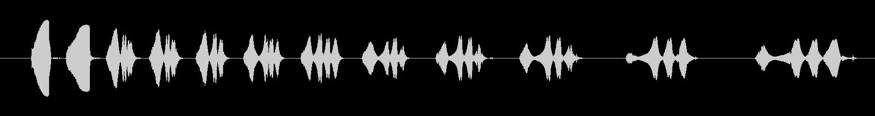 フィクション スペース レーザーマ...の未再生の波形