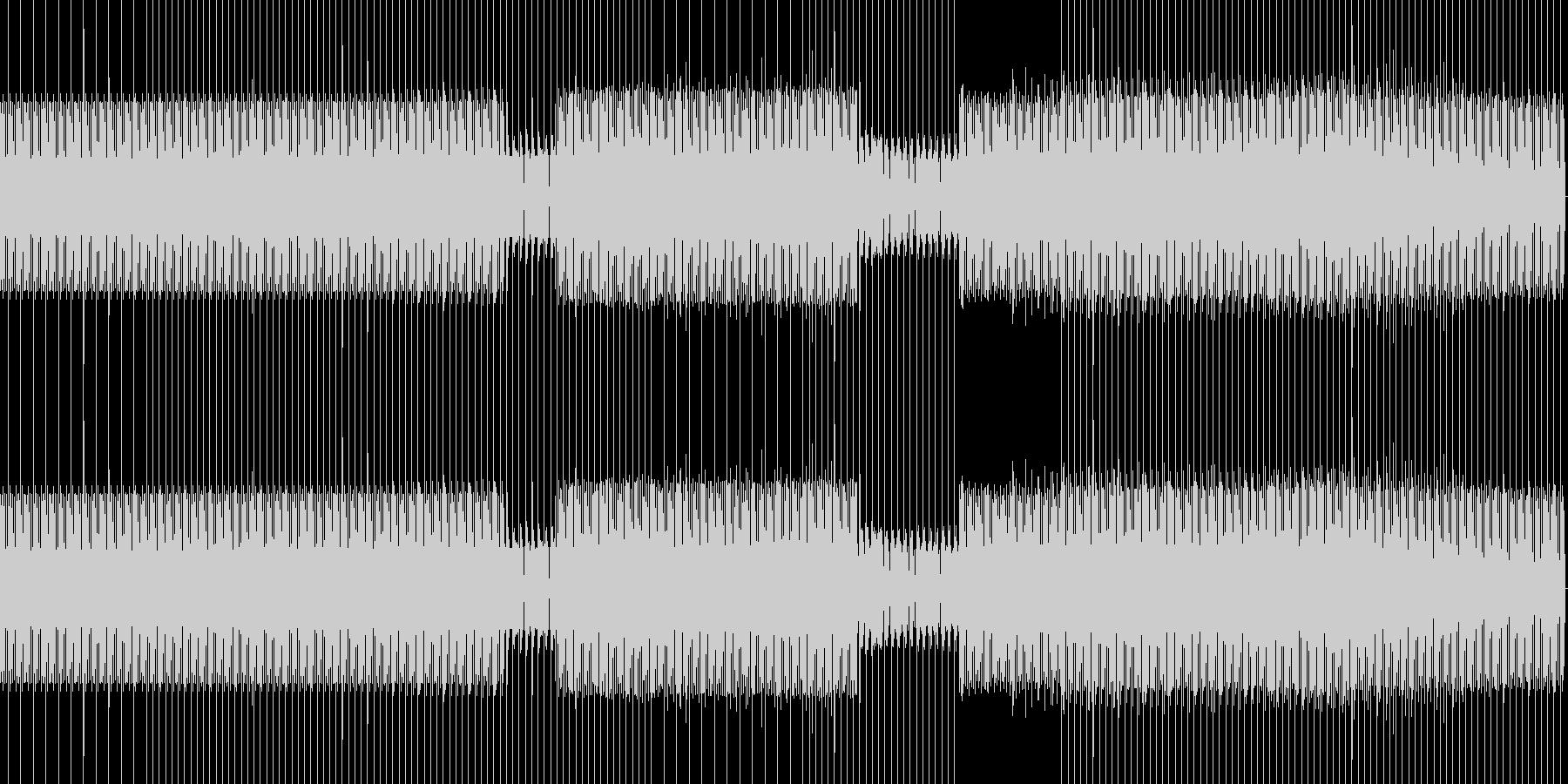 minimal house 02 の未再生の波形