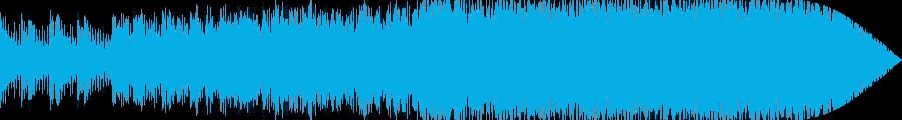 緊張感のある退廃的な世界の曲 コロナの再生済みの波形