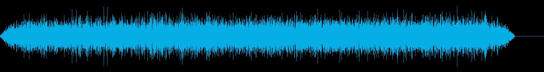 暗い風のバズの再生済みの波形