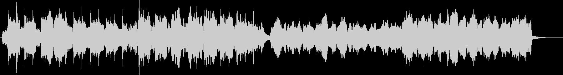 クラリネットを中心としたオーケストラの未再生の波形