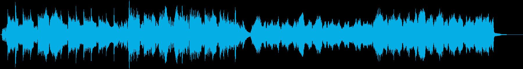 クラリネットを中心としたオーケストラの再生済みの波形