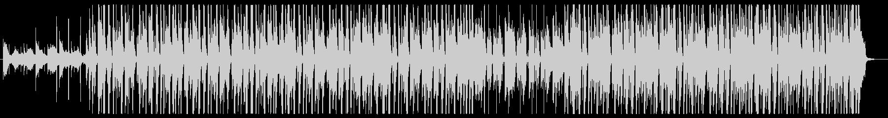 クールな印象なジャジーヒップホップの未再生の波形