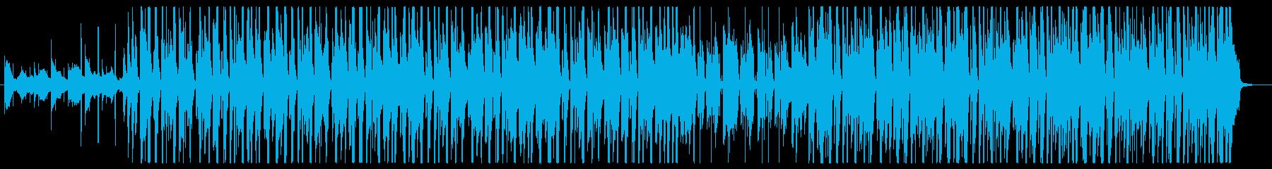 クールな印象なジャジーヒップホップの再生済みの波形