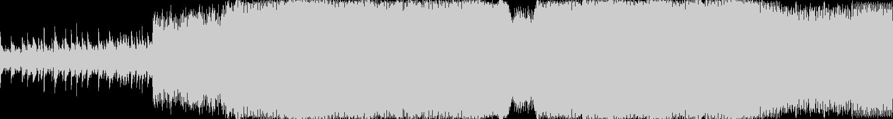 テクノ 技術的な お洒落 ハイテク...の未再生の波形
