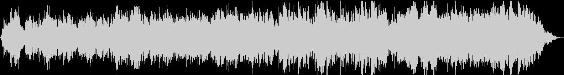 波の音に漂う透明なヒーリングハーモニーの未再生の波形