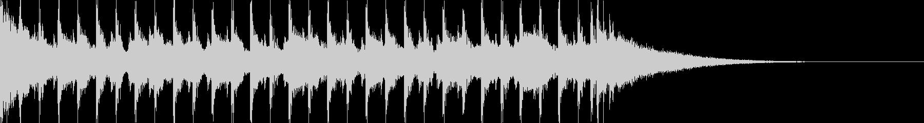 15秒CM可愛いウクレレ/口笛/ノリノリの未再生の波形