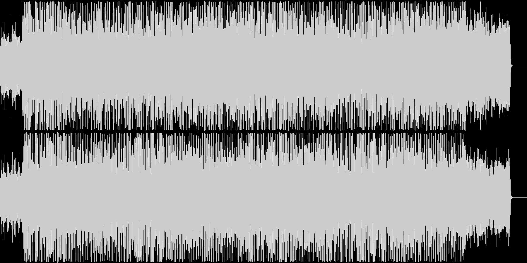 ノスタルジックなメロディの未再生の波形