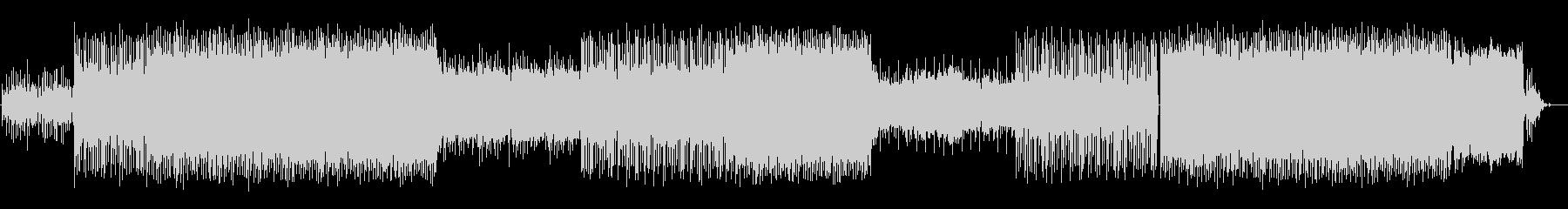 エモ感のあるローファイヒップホップの未再生の波形
