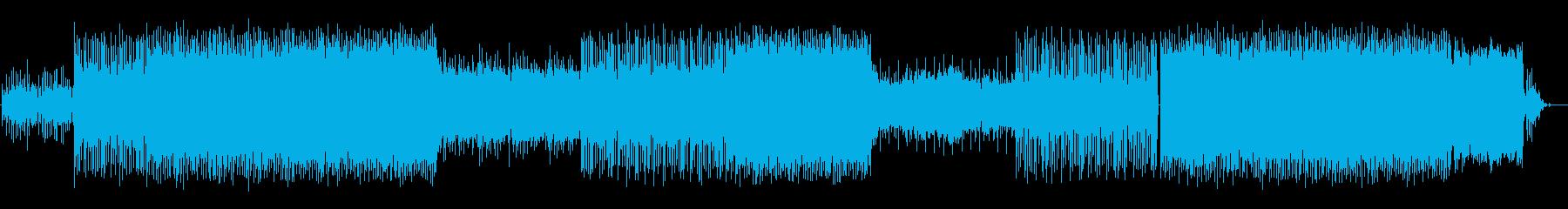 エモ感のあるローファイヒップホップの再生済みの波形