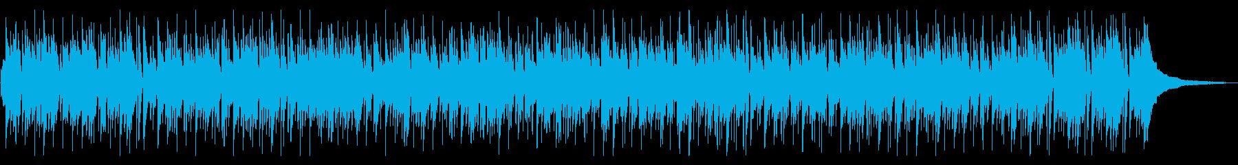 リラックスムードが漂うボサノバの再生済みの波形