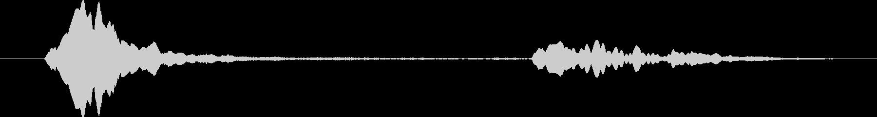 煙探知器:テストビープ音、遠隔音、...の未再生の波形