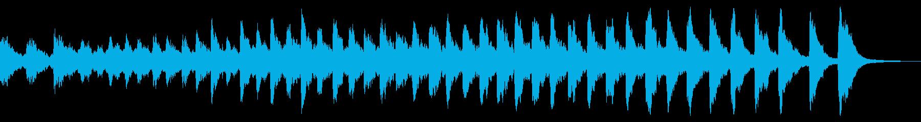 レプトン教会テナーEベル:リンギングの再生済みの波形