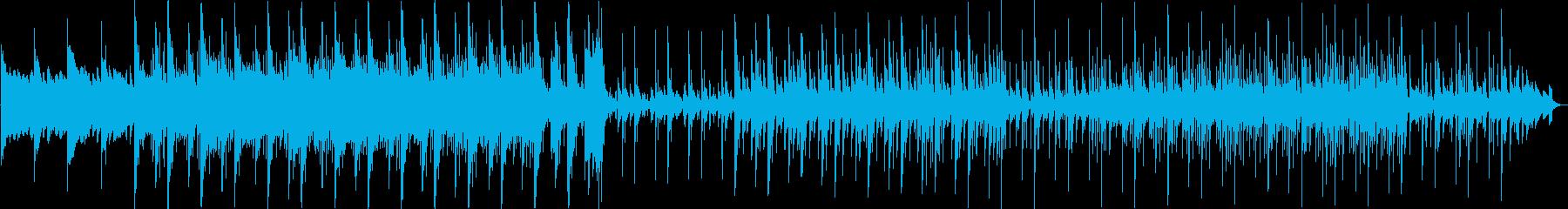 OP、始まりをイメージした電子音楽の再生済みの波形