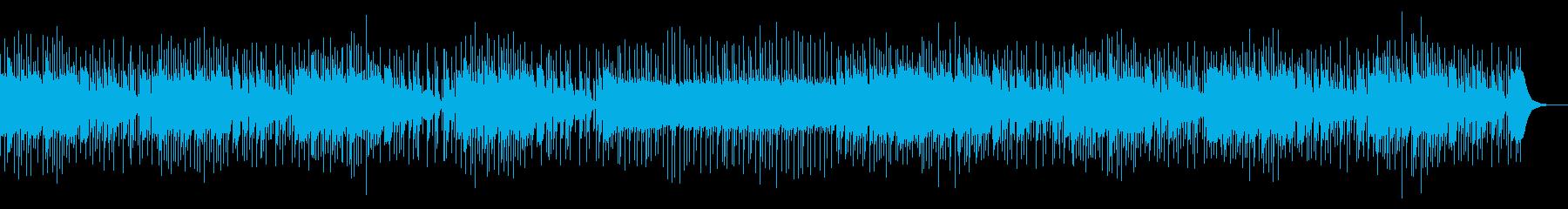 クイズで考えているときの緊迫感ある曲の再生済みの波形