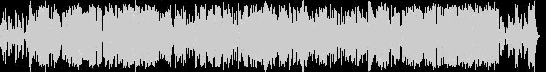 サックスメインのジャズフュージョンの未再生の波形