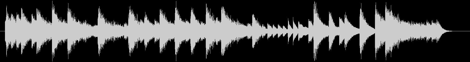 童謡・紅葉モチーフのピアノジングルCの未再生の波形