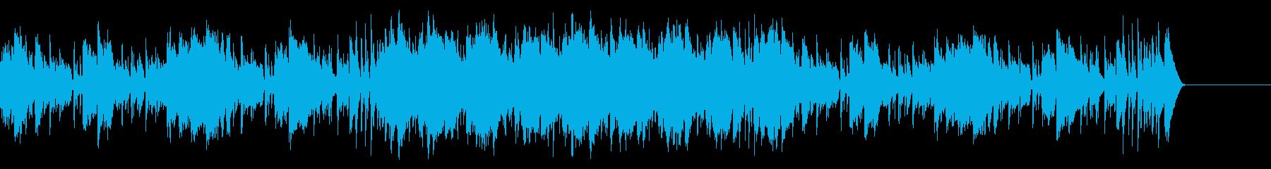エンディング・大人な夏・ジャズの再生済みの波形