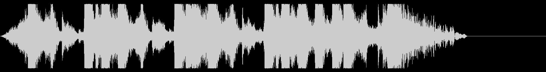 ジングル ラジオ テレビCM エレクトロの未再生の波形