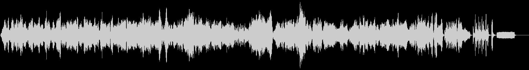 ショパンの名曲のリコーダーアレンジの未再生の波形