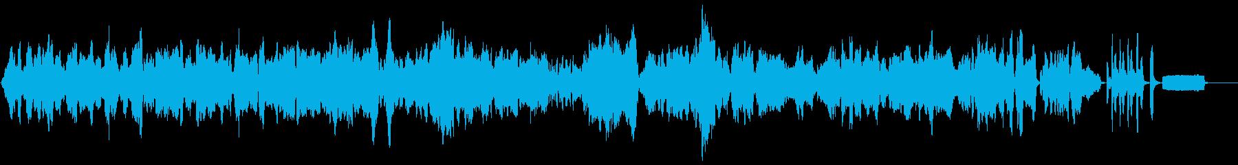 ショパンの名曲のリコーダーアレンジの再生済みの波形