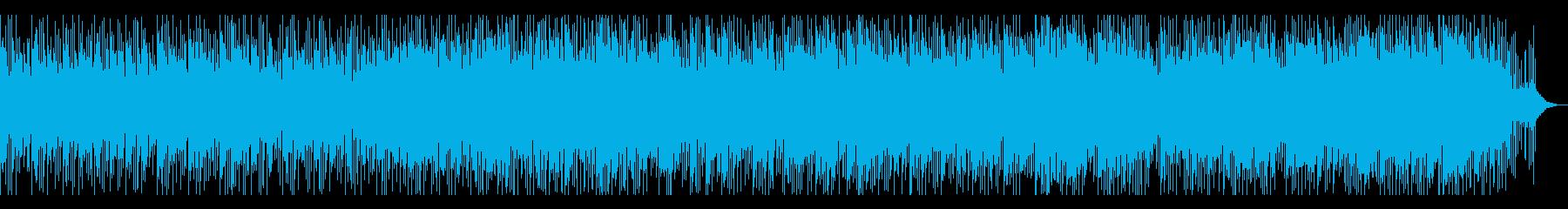 優しさと愛情をイメージしたピアノBGMの再生済みの波形