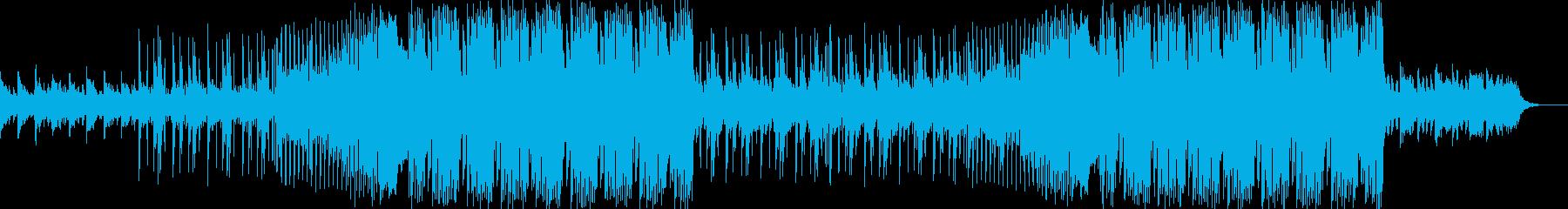 企業VP・爽やかなFuture Bassの再生済みの波形