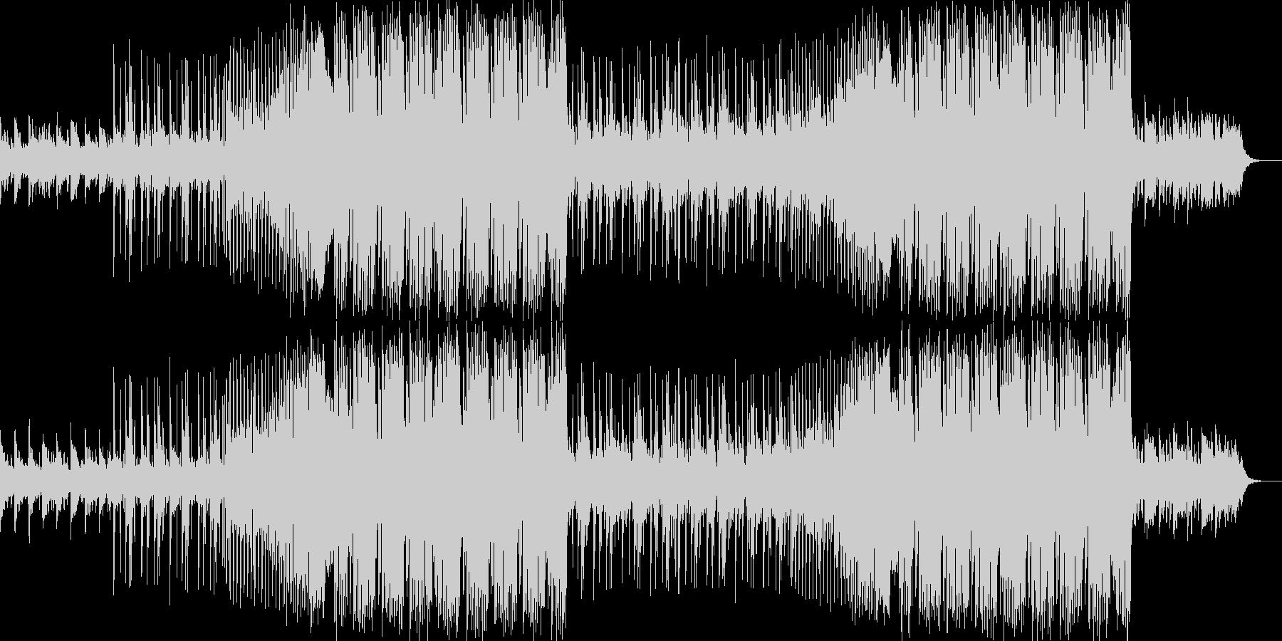 企業VP・爽やかなFuture Bassの未再生の波形