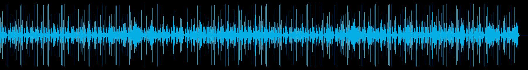 緊張感のあるCM,企業動画向け電子音楽の再生済みの波形