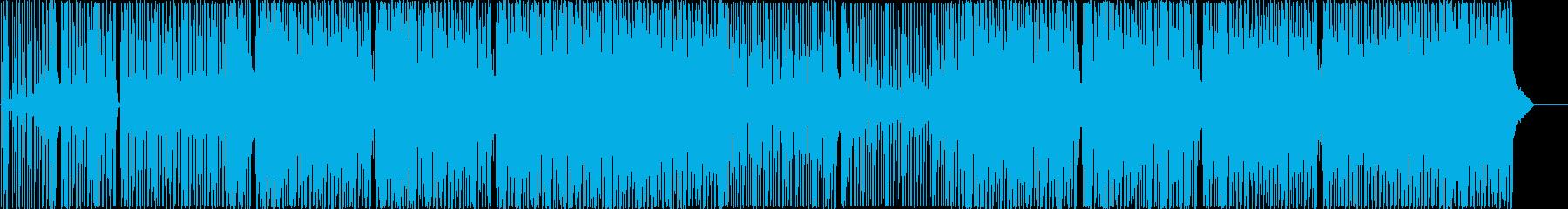 研究所、専門職PV映像に合うエレクトロの再生済みの波形