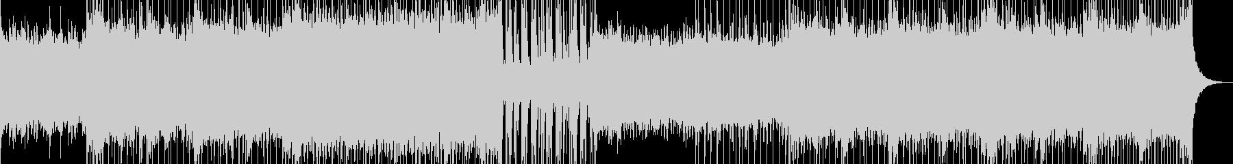 軽快なピアノポップの未再生の波形
