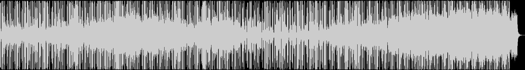 暗めの曲ですの未再生の波形