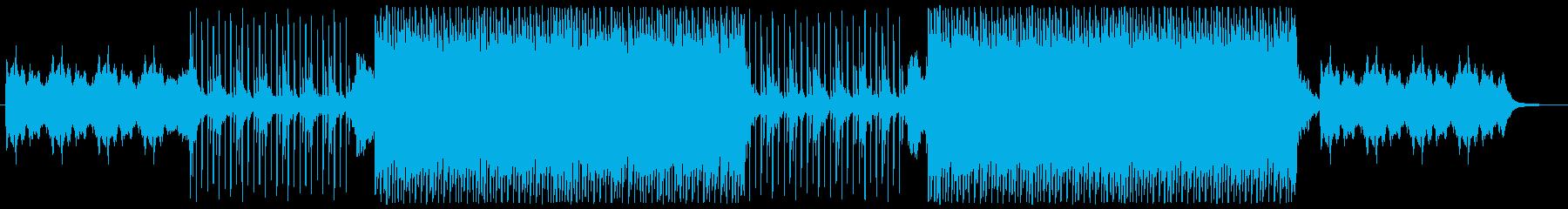 柔らかく包み込むような優しいBGMの再生済みの波形