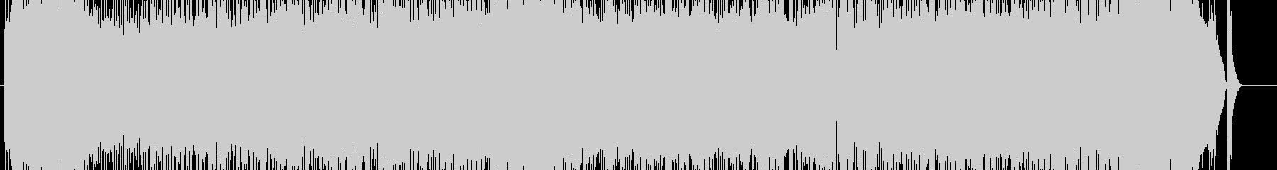 ピアノ旋律の軽快なJ-Rockの未再生の波形