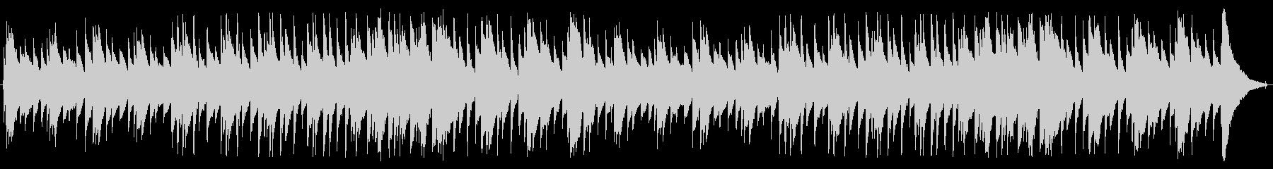 アコースティックアルペジオの未再生の波形