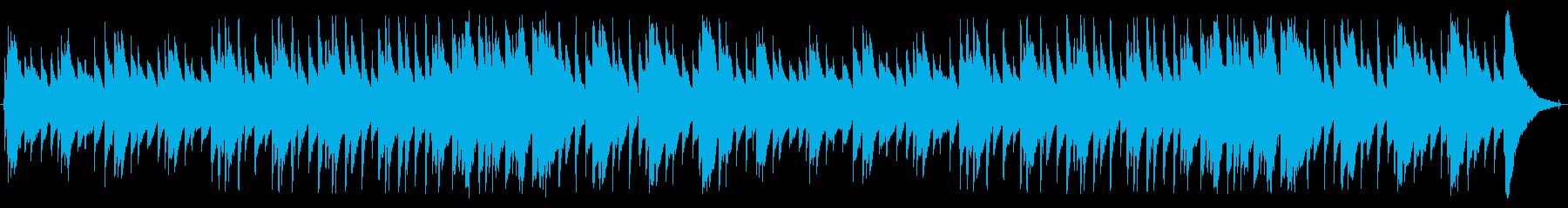 アコースティックアルペジオの再生済みの波形