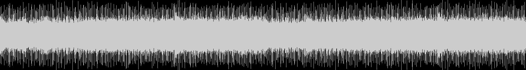 シンセとエレキギターの熱いロックサウンドの未再生の波形