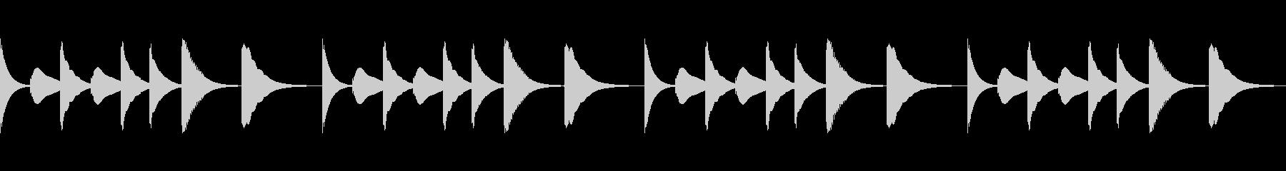 スマホ風着信音その3の未再生の波形