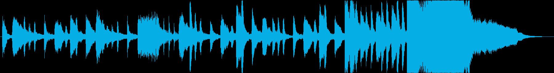 不思議・コミカルなシーンのBGM2の再生済みの波形