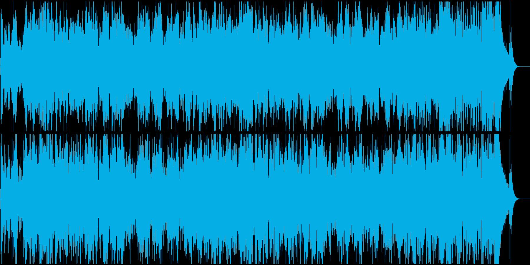 オープニング、企業VP用の壮大な入場曲の再生済みの波形