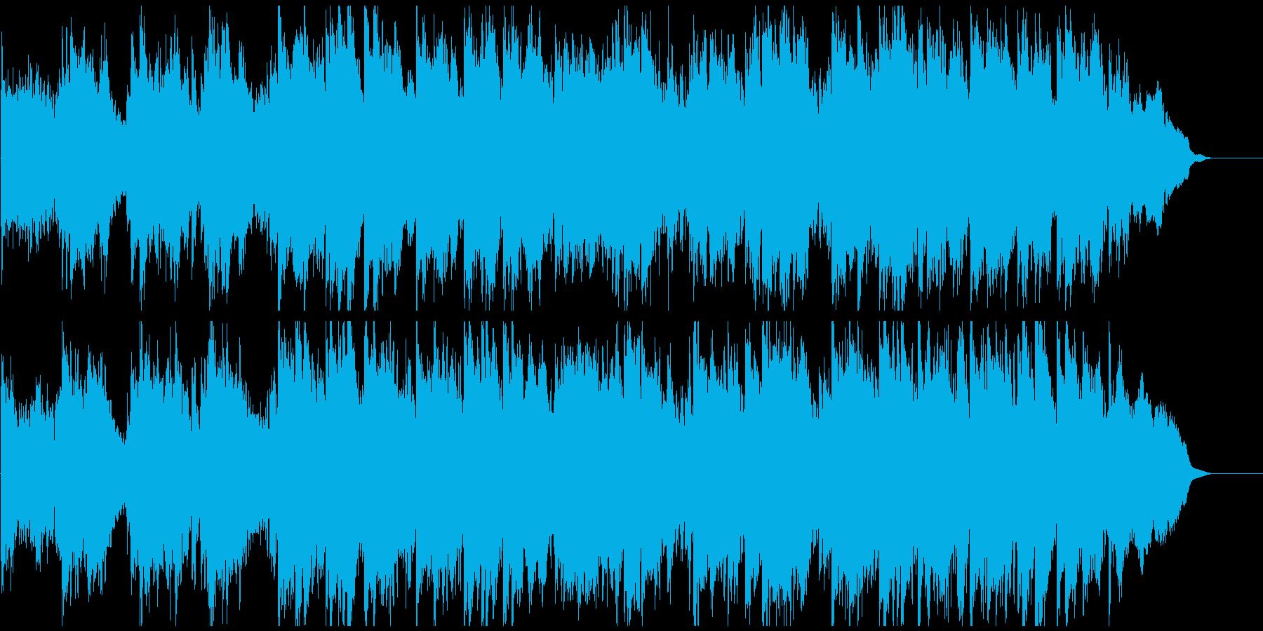 壮大で大河ドラマ的な和風曲 篠笛生演奏の再生済みの波形