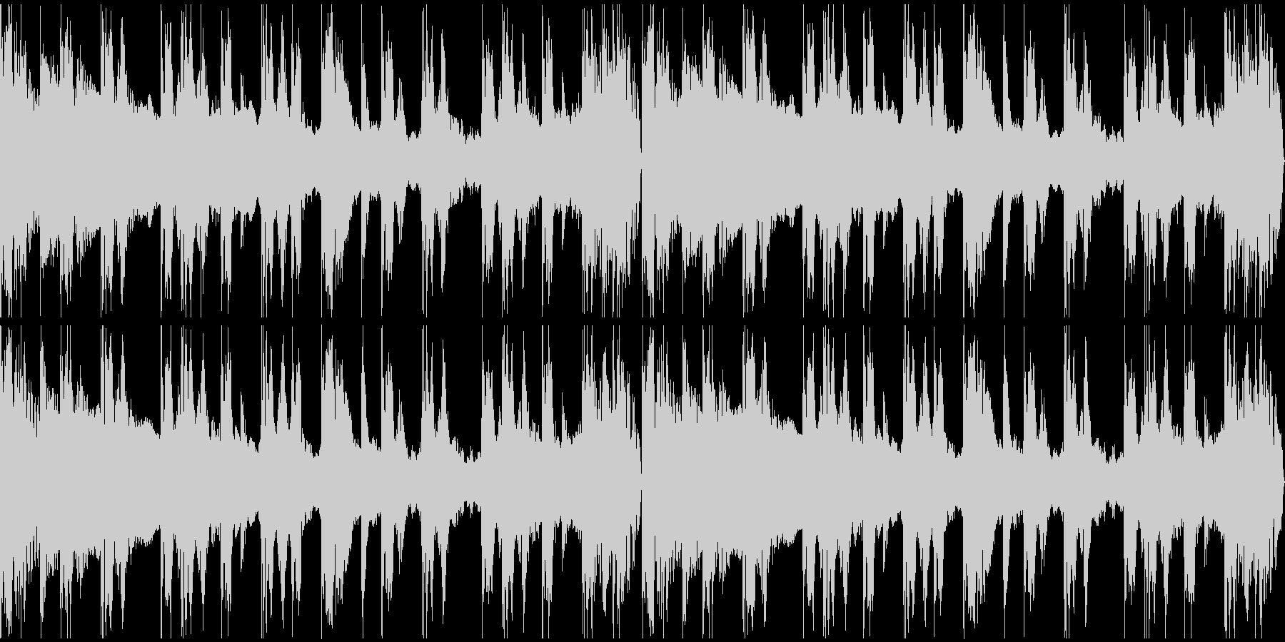 【エレクトロニカ】ロング3、ジングル3の未再生の波形