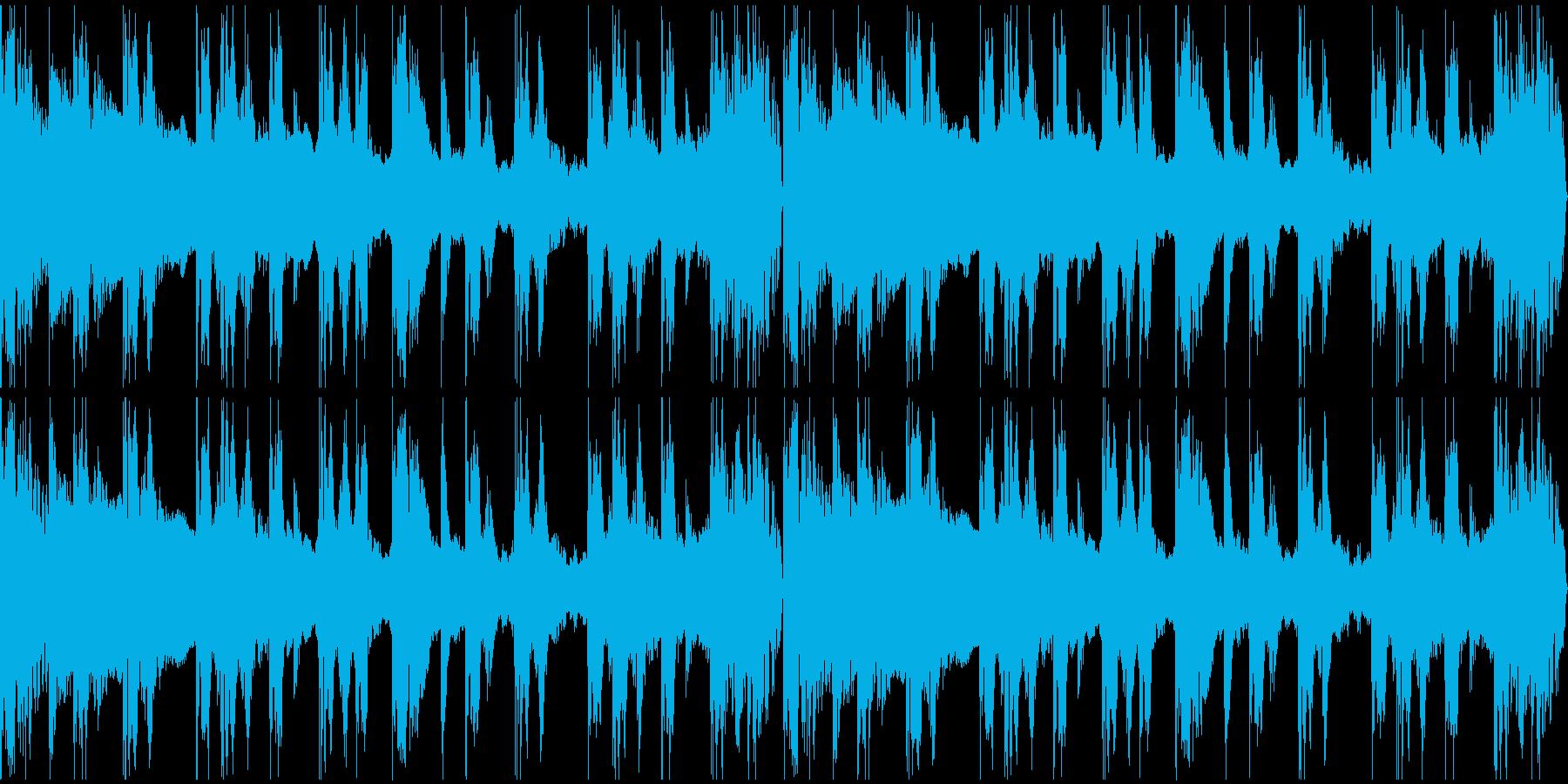【エレクトロニカ】ロング3、ジングル3の再生済みの波形