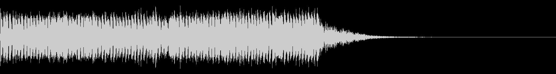 スパーク音-04の未再生の波形