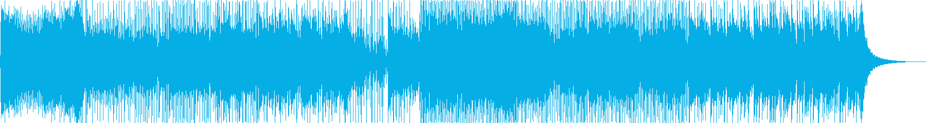 クールで近未来 EDM和風ダブステップ2の再生済みの波形