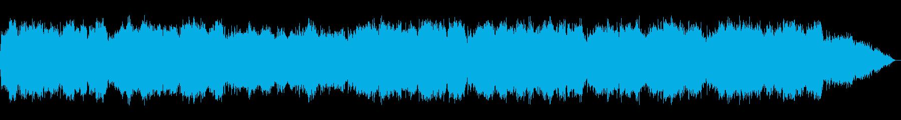 笛のメロディーのジャズっぽいヒーリング音の再生済みの波形
