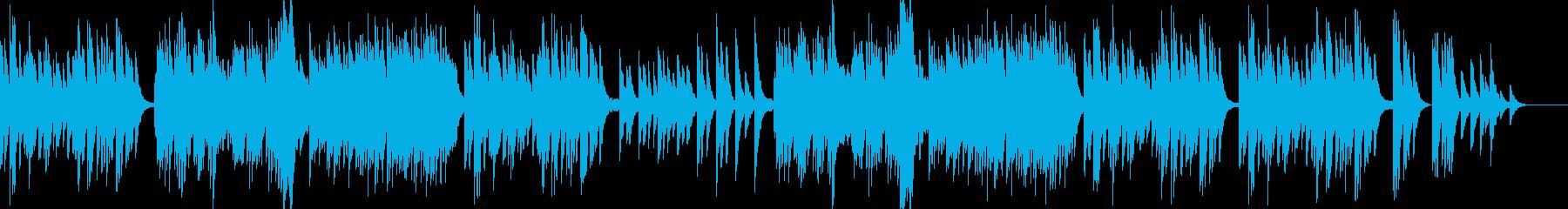 夢のなかにいるような儚く美しいエレピの曲の再生済みの波形